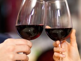 red wine oral health